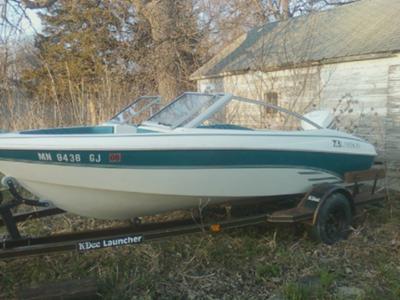 15ft larson boat